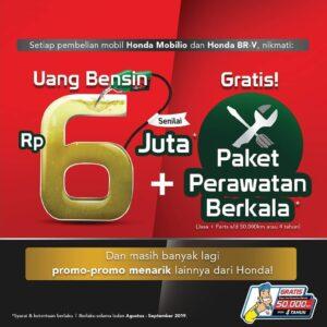Promo Honda Mobilio di Rembang 2019, promo honda rembang, promo merdeka dealer honda rembang, honda loyalist