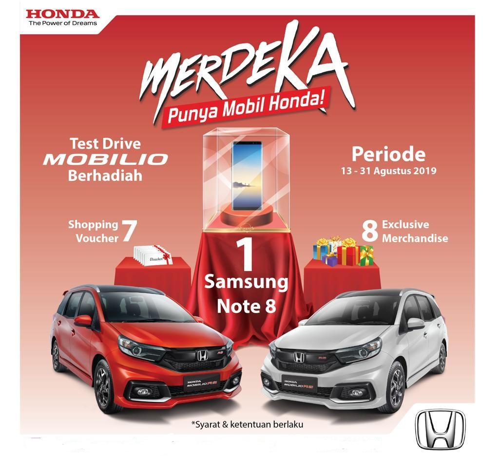 Promo Mobil Honda Rembang 2021