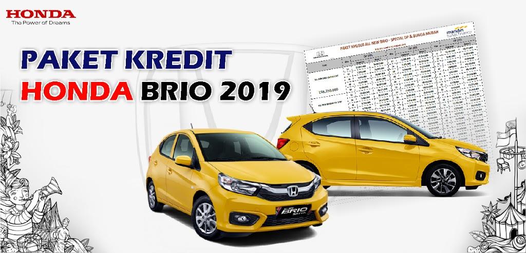 Brosur Kredit Honda Brio Rembang 2019