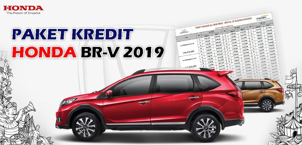 Brosur Kredit Honda BR-V Rembang 2019