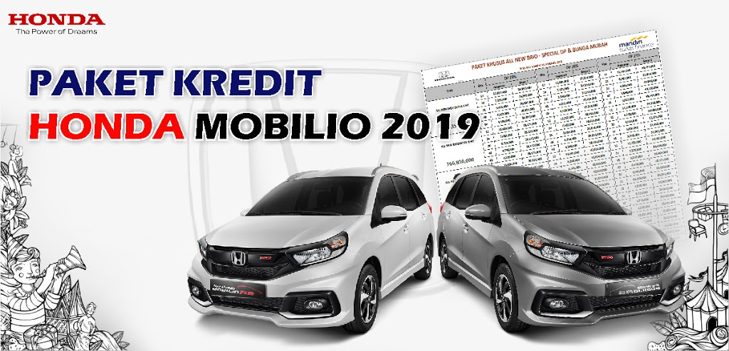 Brosur Kredit Honda Mobilio Rembang 2019