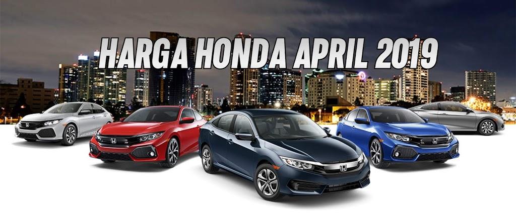 Daftar Harga / Pricelist Honda Rembang 2019