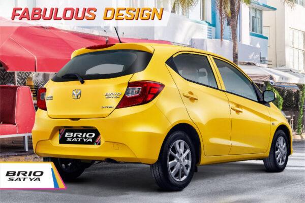 belakang All New Brio satya Rembang