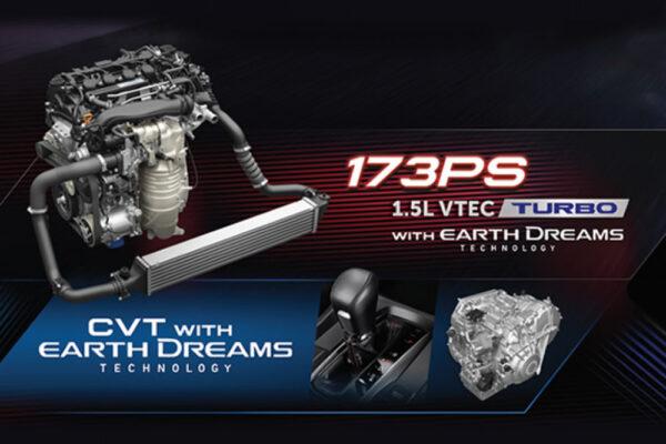 mesin Civic Hatchback RS rembang